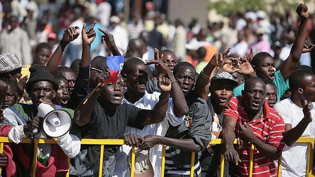 בהאיטי לא נותרו אדישים לדברים (צילום: gettyimages)