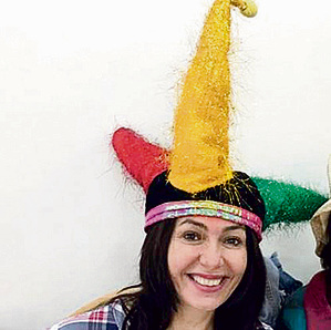 Minister of Sport (except baseball apparently) and Culture Miri Regev decides to clown around
