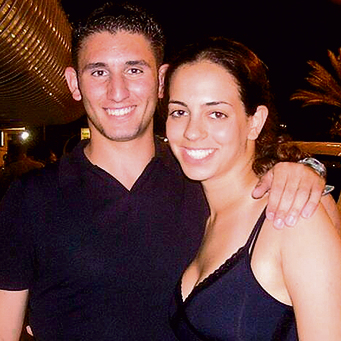 Adi Tal-Cohen and Cpt. Tal Bardugo