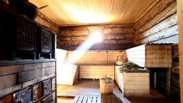 Siberian sauna