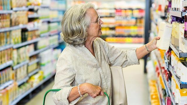 קניות בסופרמרקט (צילום: Shutterstock) (צילום: Shutterstock)