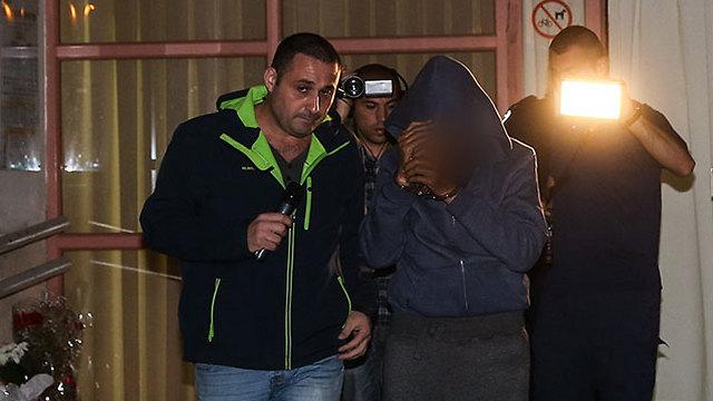The murder suspect (Photo: Yariv Katz)