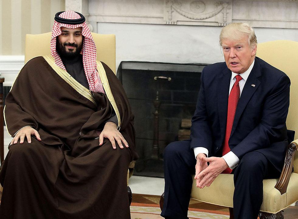 """עם נשיא ארה""""ב דונלד טראמפ (צילום: MCT) (צילום: MCT)"""