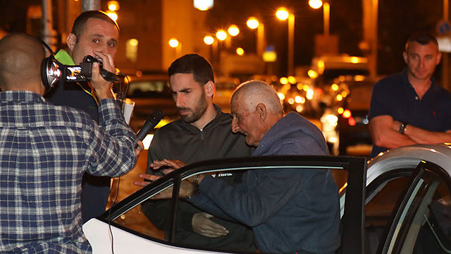 Faraj after his arrest (Photo: Shaul Golan) (Photo: Shaul Golan)