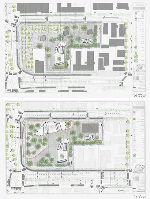 (שרטוט: אבנר ישר אדריכלים, מתוך gisn.tel-aviv.gov.il)