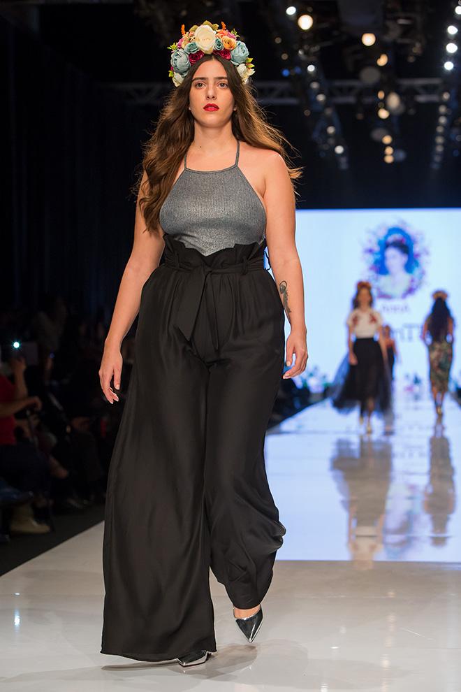 תצוגת האופנה של אנה לוקצקי (צילום: ענבל מרמרי)