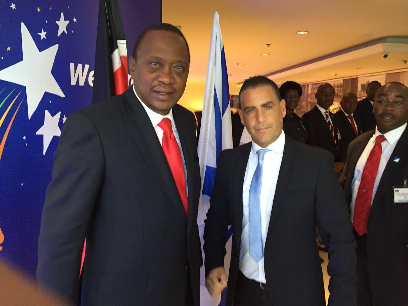 יוסי נביא ונשיא קניה אוהורו קניאטה