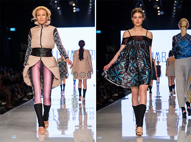 """""""זאת קולקציה לא טובה. אין התאמה בין הסגנון של הבגדים לבין הבחירה לקחת נשים שאינן דוגמניות למסלול. זה לא עבד"""". אלישע אברז'יל (צילום: ענבל מרמרי)"""