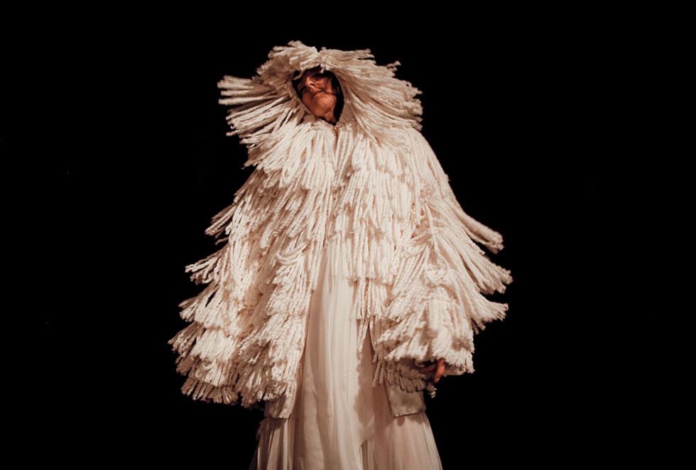 אחורי הקלעים הוא אפילוג ופרולוג תצוגות האופנה. ויוי בלאיש (צילום: גיל חיון idocvm@)