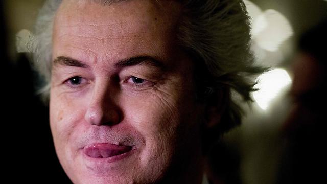 חירט וילדרס, מנהיג מפלגת החירות ההולנדית (צילום: AFP) (צילום: AFP)
