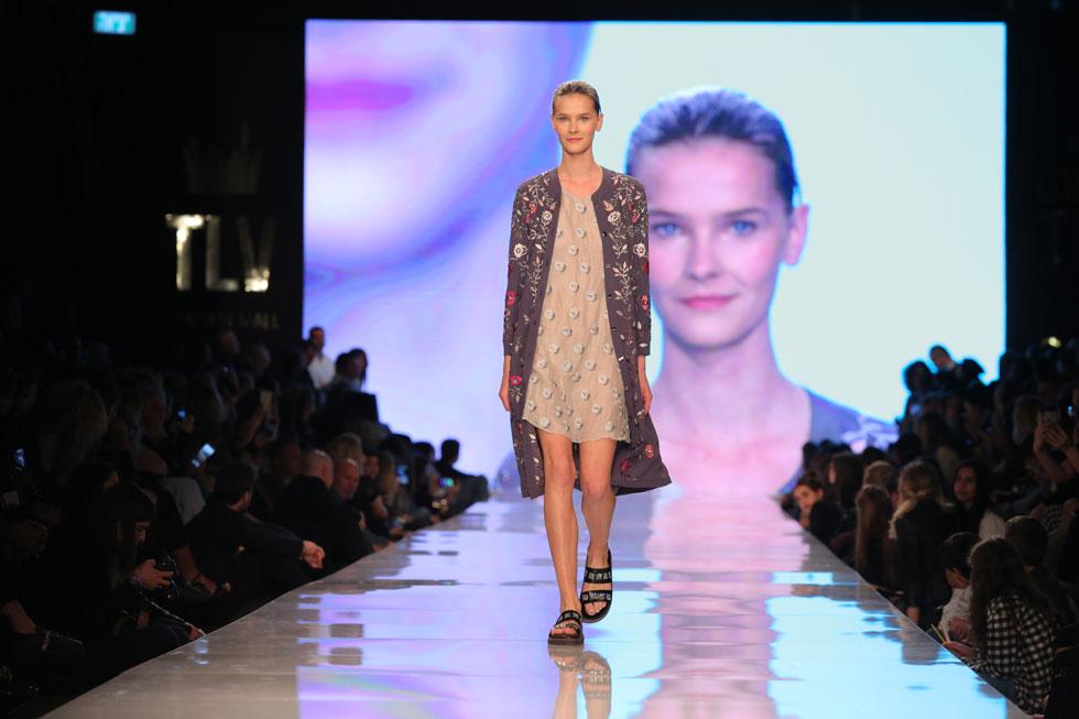 סגרה את שבוע האופנה בתל אביב. התצוגה של טובה'לה (צילום: אורית פניני)