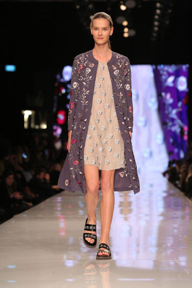 """""""הרעיונות וההשראות שלי היו תמיד מהרחוב"""". תצוגת האופנה של טובה'לה בשבוע האופנה 2017 (צילום: אורית פניני)"""
