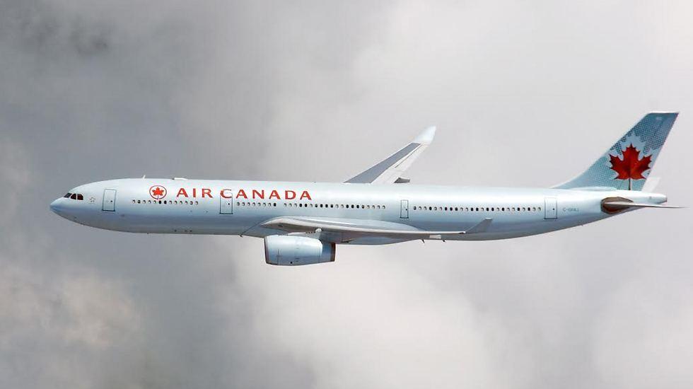 Лайнер компании Air Canada. Фото: пресс-служба компании