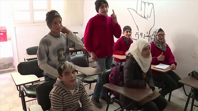 כמה מ-20 אלף החירשים הסורים (צילום : חגי דקל)