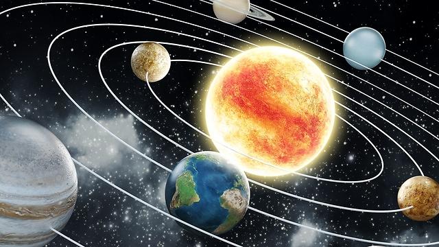 מערכת השמש (צילום: shutterstock) (צילום: shutterstock)