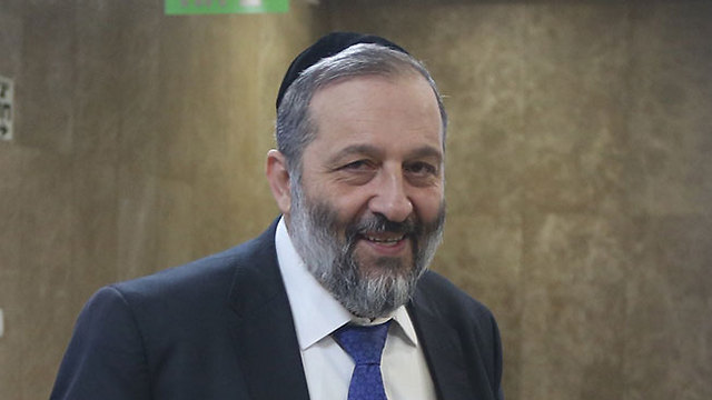 Interior Minister Aryeh Deri (Photo: Photo: Mark Israel Salem)