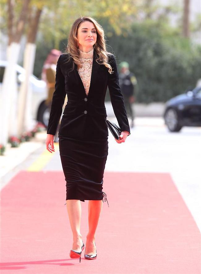 ראניה מלכת ירדן (צילום:Gettyimages)