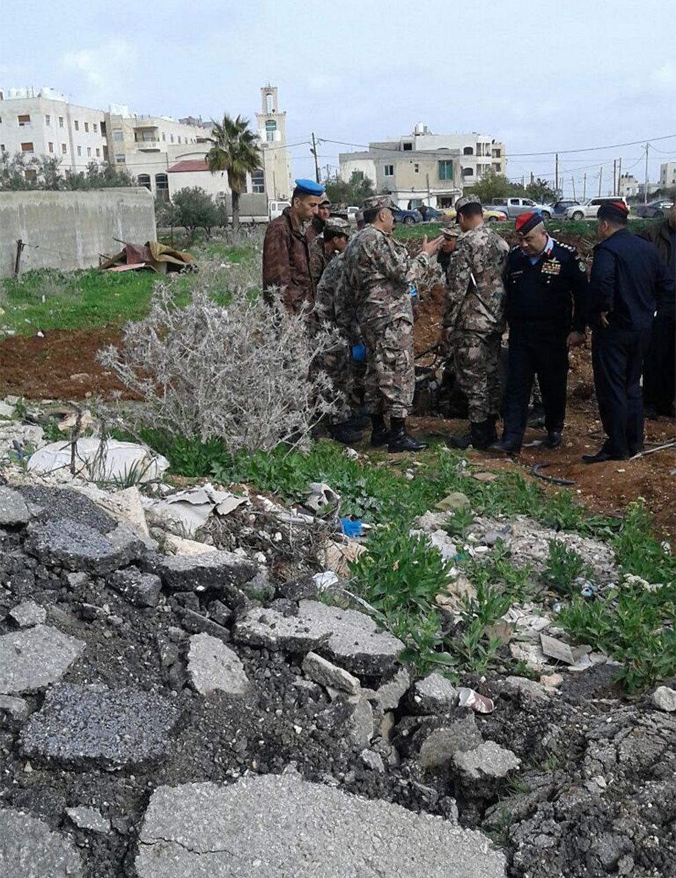 אזור התקיפה הישראלית בסוף השבוע בסוריה