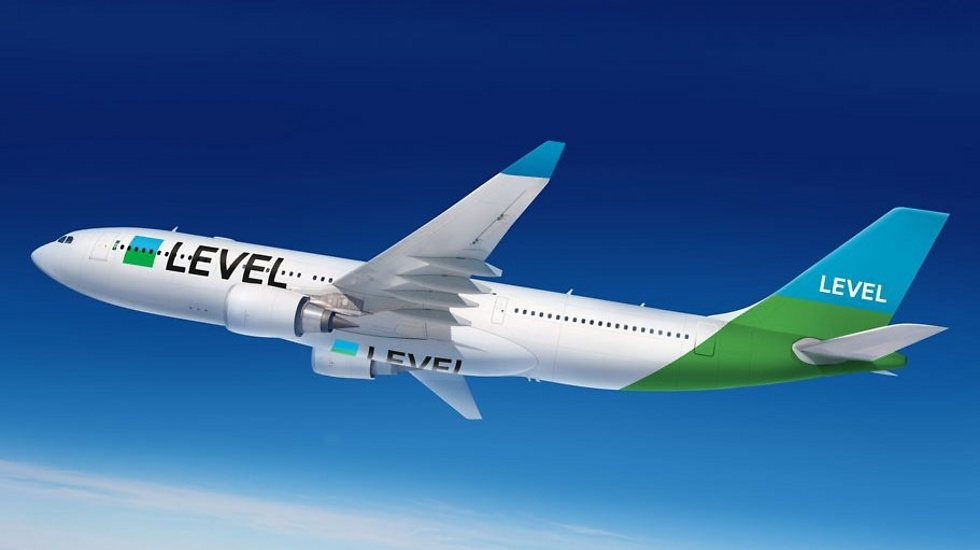 מטוס החברה החדשה LEVEL (צילום: LEVEL)