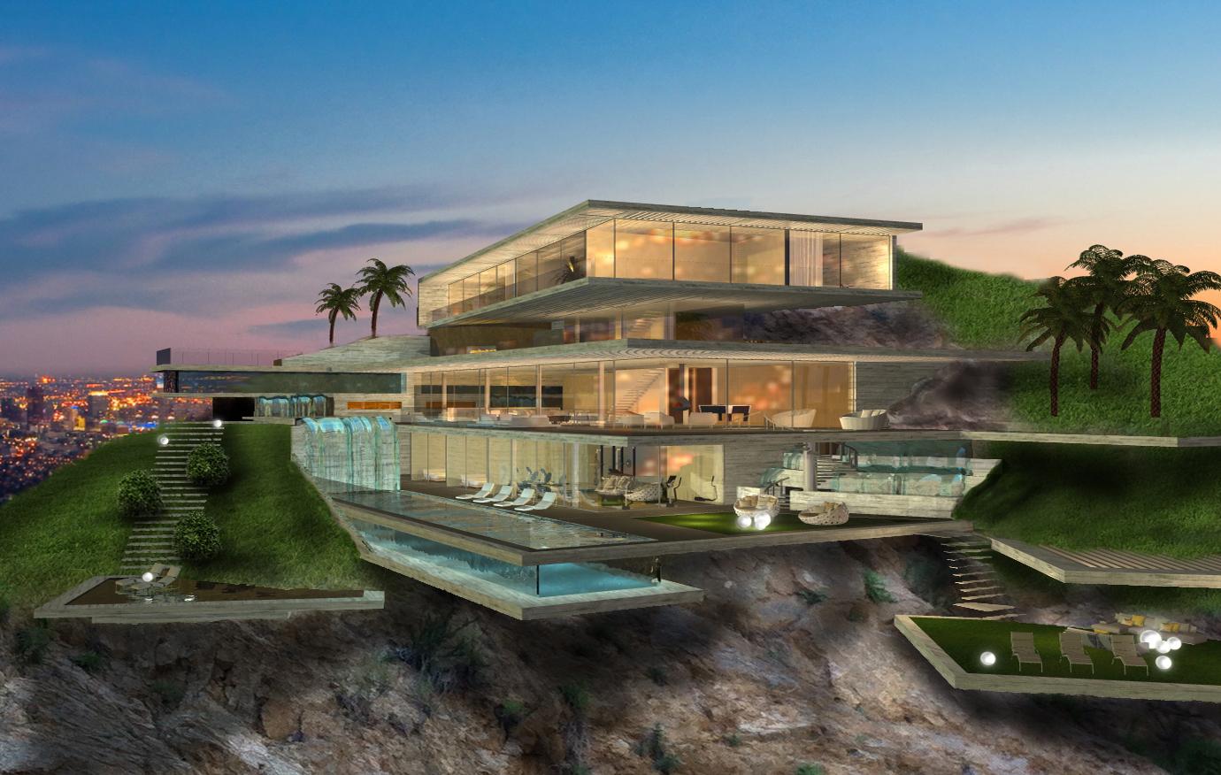 Проект поместья в Голливуде