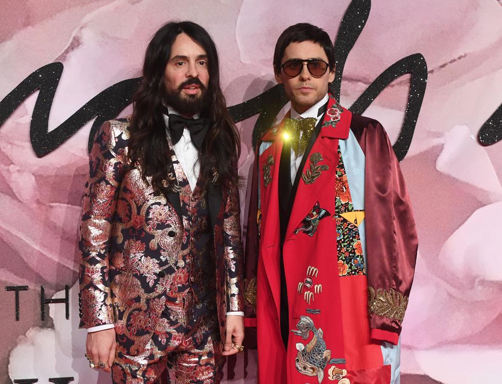 חברים או זוג? צמד הגברים הכי לוהט באופנה, ג'ארד לטו ואלסנדרו מיקלה (צילום: Gettyimages)