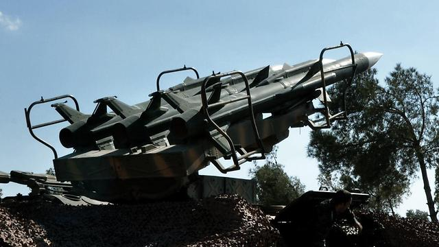 Images released by Hezbollah depicting Syrian air defense equipment