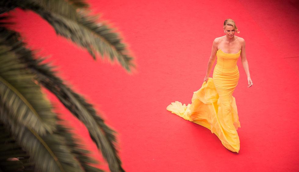 בפסטיבל קאן לפני שנתיים. בקרוב נראה אותה כמרגלת בריטית שמעיפה גברים באוויר (צילום: Gettyimages)