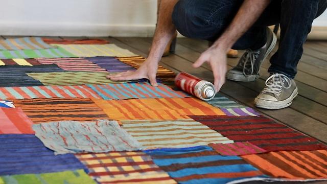 יחד, הסטודנטים והמטופלים יצרו שדה מרהיב של צבעים