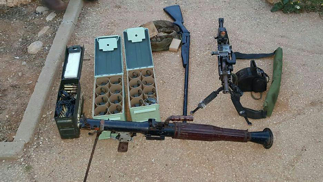 Weapons stolen from an IDF base