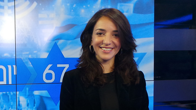 Lucy Aharish (Photo: Idan Arbel)