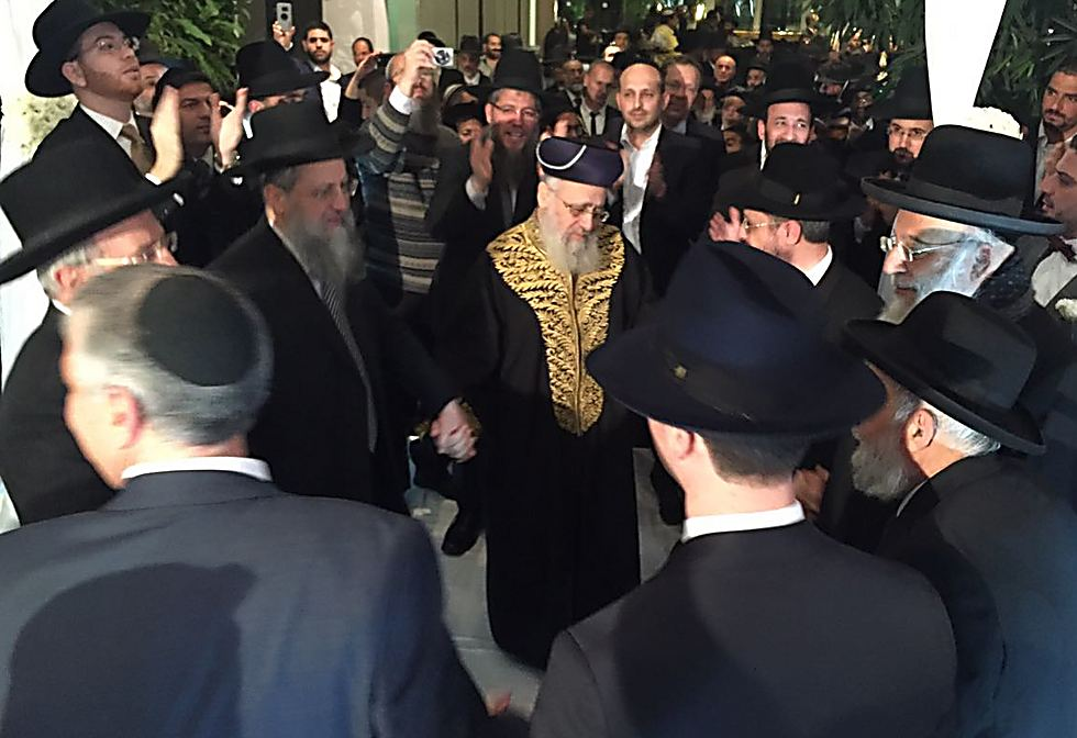 Cohen's uncle Chief Rabbi Yitzhak Yosef among other additional uncles from the Yosef family