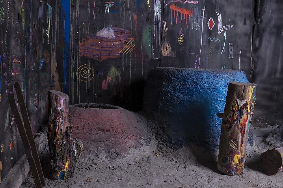 """""""הצריף של סבתא הוא מקום קסום שבו יש אוצר חבוי שטרם מצאתי"""" (צילום: דורון עובד) (צילום: דורון עובד)"""