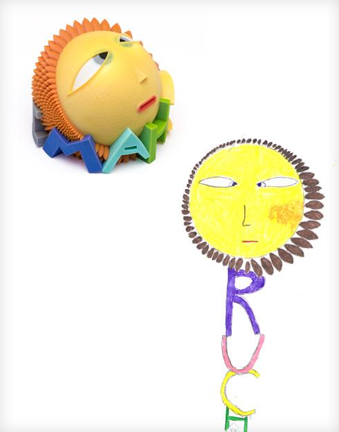 החמנייה של רוחמי וסטודיו COZY (צילום ציורי ילדים: באדיבות סטודיו דור כרמון, צילום הבובות: יורם רשף)