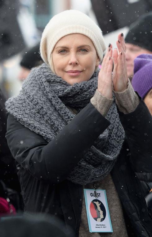 בצעדת הנשים ביוטה נגד טראמפ, בינואר האחרון. פעילות חברתית ממושכת (צילום: Gettyimages)