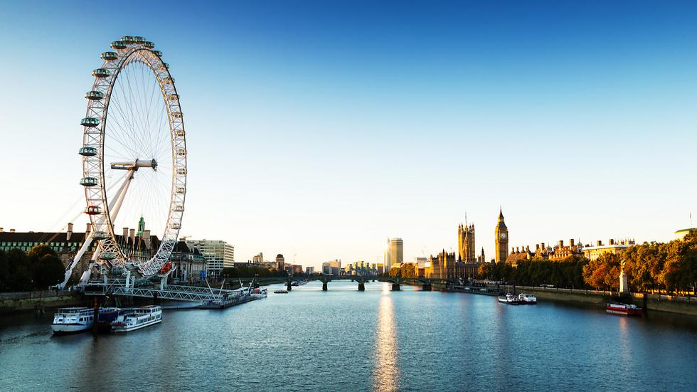 הגלגל הלונדוני. פתוח כבר מ-2000 (צילום: shutterstock)