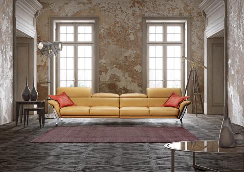 כדאי לקחת בחשבון את מספר הנפשות בבית. ספה מדגם HENI, 35,900 שקל. ניקולטי (צילום: גיא שרון)
