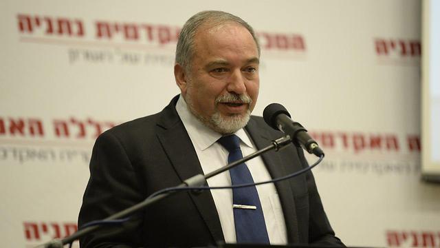 Lieberman (Photo: Yair Sagi) (Photo: Yair Sagi)