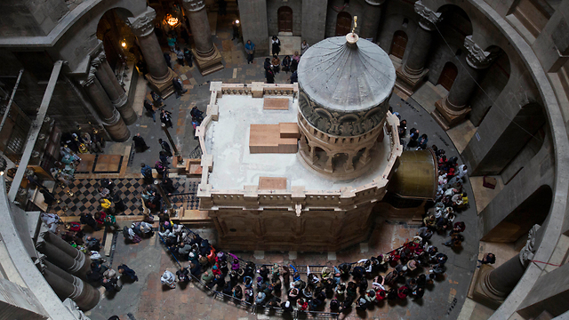 Possible historical evidence pointing to Jesus being entombed in the Church of the Holy Sepulchre was discovered recently (Photo: AP)