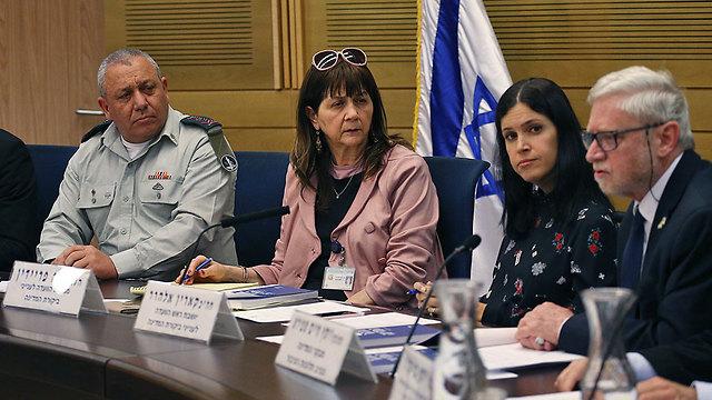 הוועדה לביקורת המדינה, היום (צילום: אוהד צויגנברג) (צילום: אוהד צויגנברג)