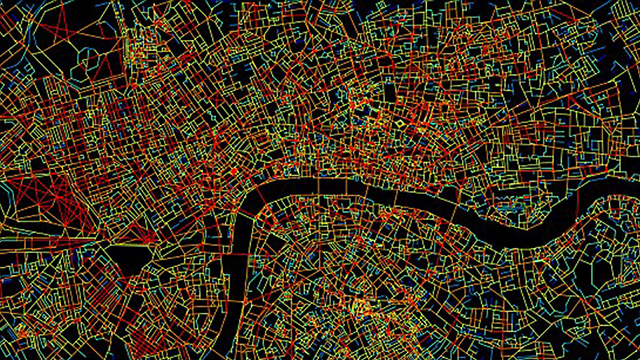 לונדון. ניווט שם מסובך בהרבה מבמנהטן