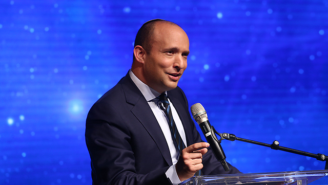 Education Minister Naftali Bennett (Photo: Ohad Zwigenberg)