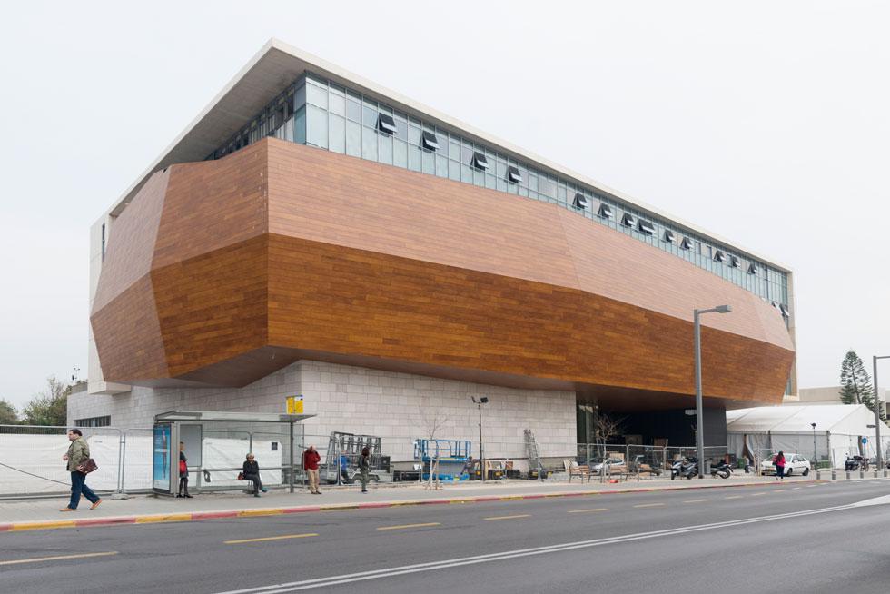 לחצו להצצה ראשונה למוזיאון הטבע החדש ברמת אביב (צילום: גדעון לוין)