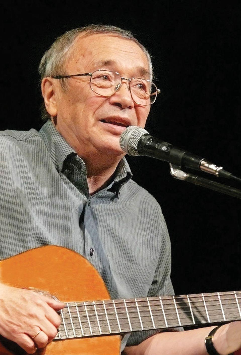 Юлий Ким. Фото из личного архива