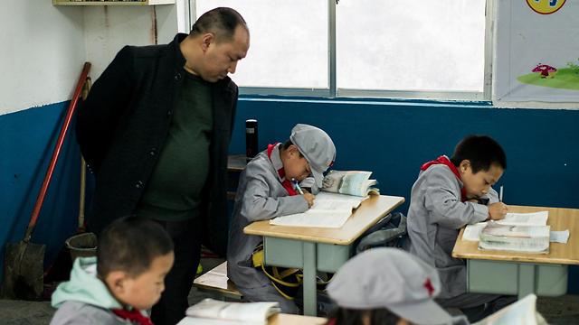 הפיקוח גדול, ואין יצירתיות. בית ספר סיני (צילום: AFP)
