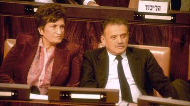 """1988: לצד שושנה ארבלי אלמוזלינו (צילום: יעקב סער, לע""""מ) (צילום: יעקב סער, לע"""