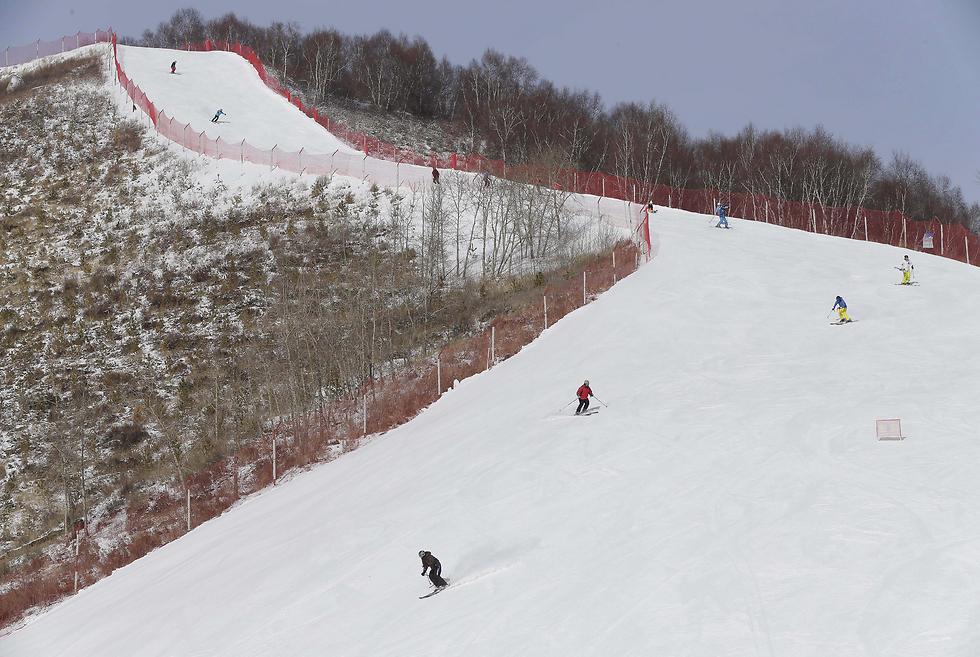 אחד מהאתרים שאמורים לארח את אולימפיאדת החורף (צילום: EPA) (צילום: EPA)
