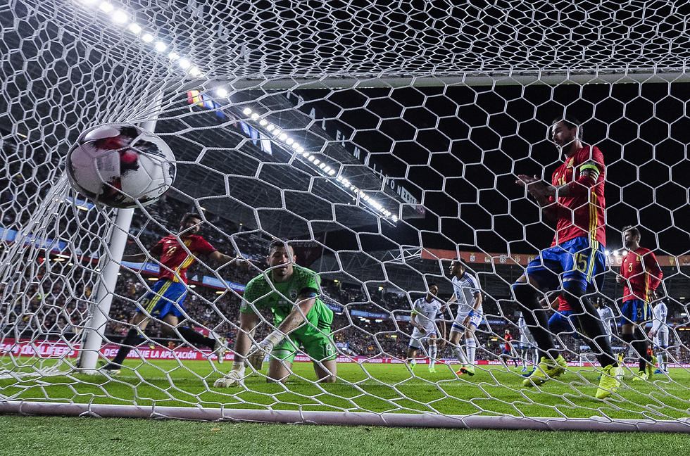A qualifying game for the 2018 World Cup (Photo: Getty Images)