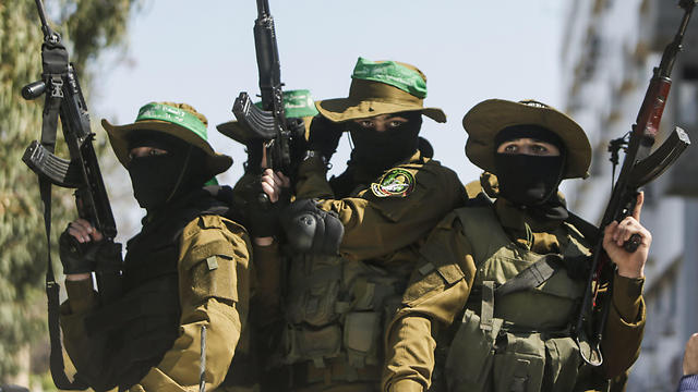 Hamas militants (Photo: AFP)
