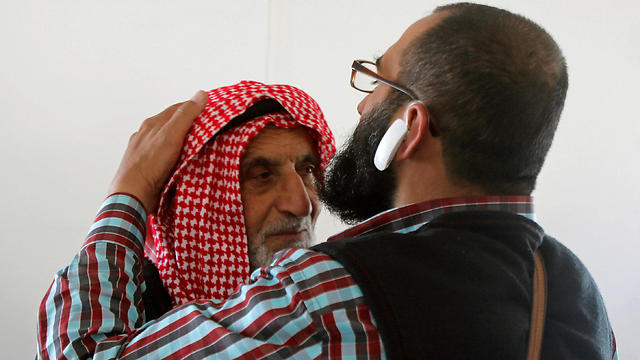 Fukha's father, who says the Shin Bet warned him several times (Photo: Reuters)
