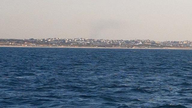החוף הצפוני של רצועת עזה